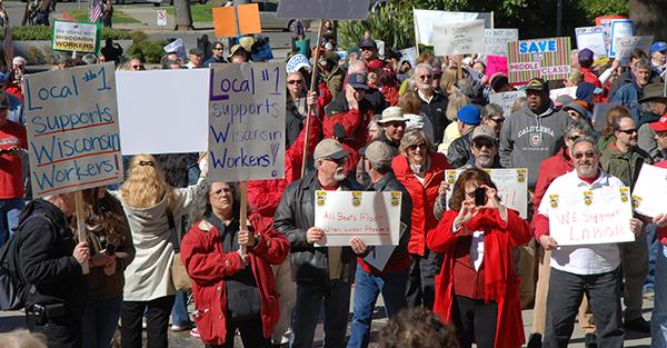 labor-union-protest